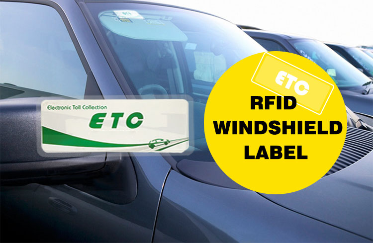 UHF RFID Windshiled Tag