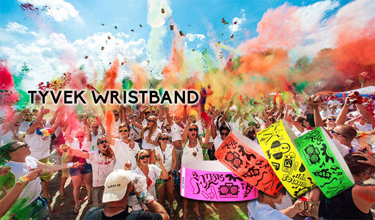 Disposable Tyvek Wristband for Concert