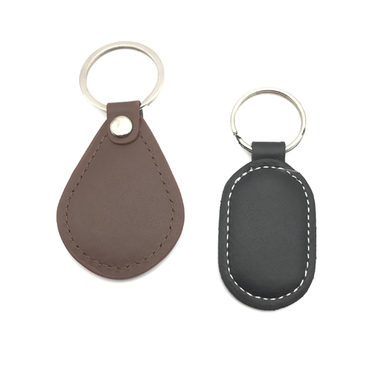 Elegant RFID Leather Keyfob