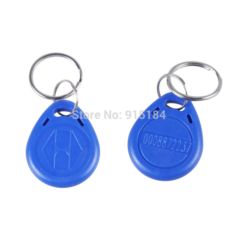 125khz Rewritable Rfid Key Fobs