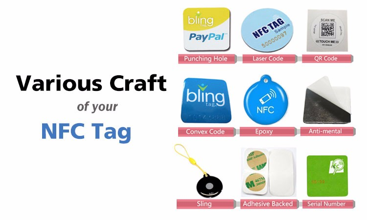 Printable Rfid Anti Metal Nfc Tag