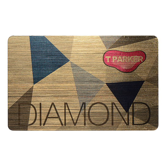 Brushed Metal Vip Card