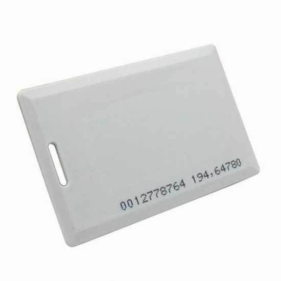 RFID Clamshell Thick Card For Access Control