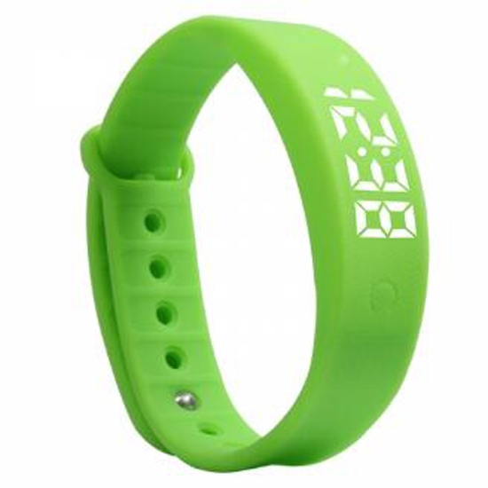 Silicone impermeável RFID LED Sport Smart Watch