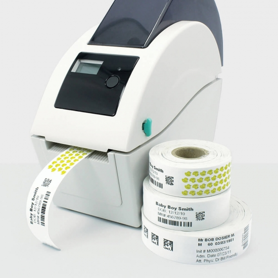 RFID Disposable Thermal Paper Wristband